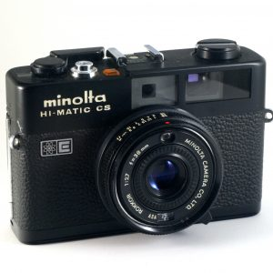 Minolta Hi-Matic CS - Minolta Rokkor 38mm f/2,7