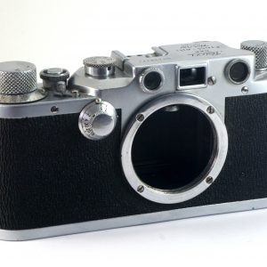 Leitz Leica IIIC rangefinder 35mm film camera Body (1950)