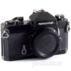 Nikon Nikkormat FT-3 Black