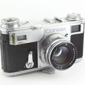 Contax II - 50mm f/2.0 Jupiter 8