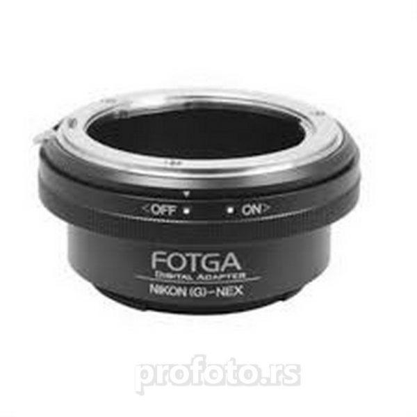 Adapter Fotga Nikon G - Sony NEX
