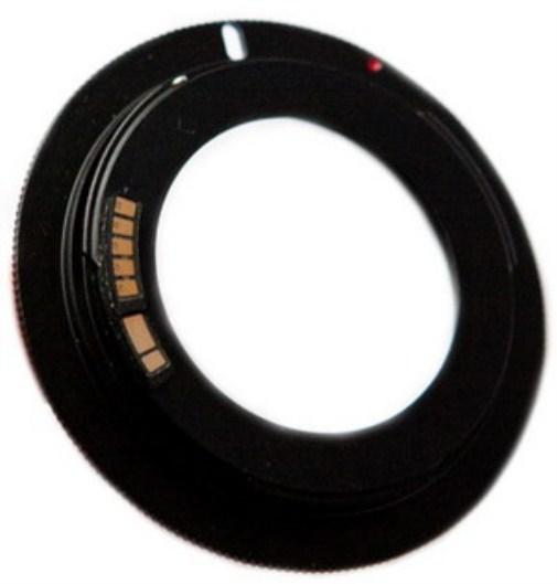 Adapter M42 - Canon EOS (EF) Potvrda fokusa