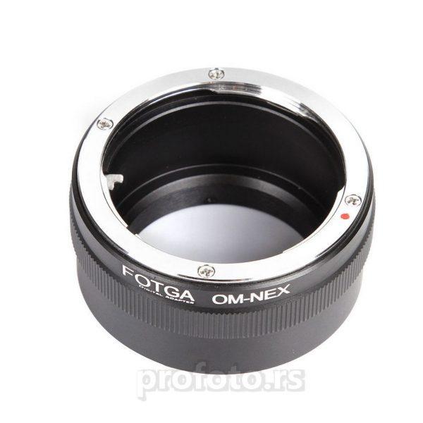 Adapter Olympus OM - Sony NEX Fotga
