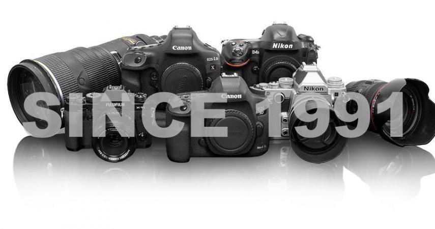 Used camera shop - Serbia