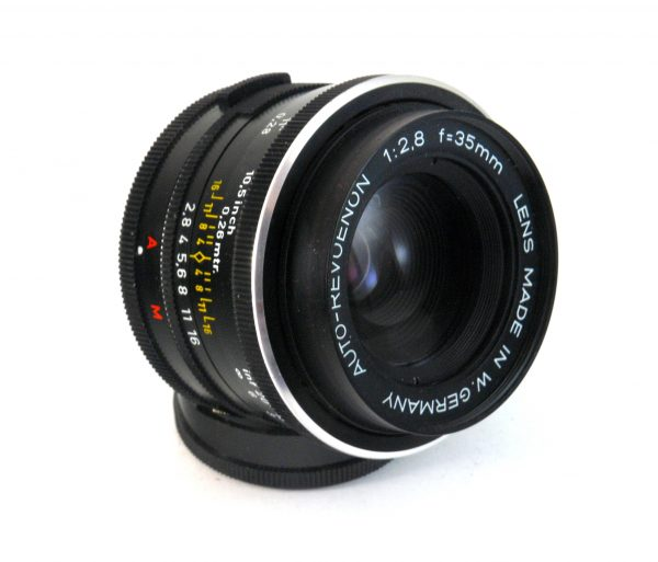 Auto-Revuenon 35mm f/2.8 navoj m42