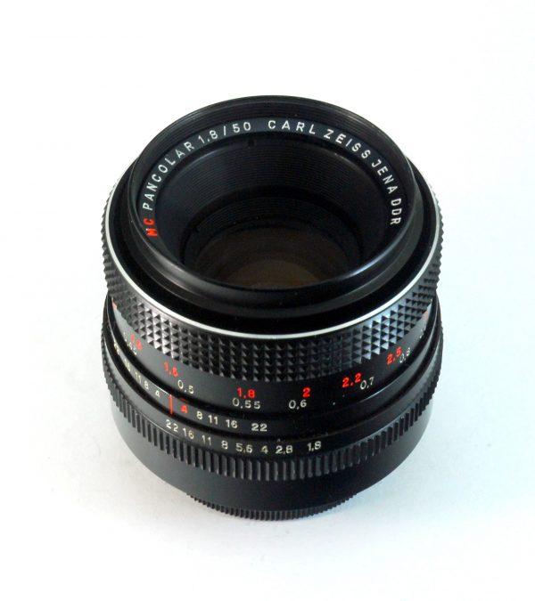 Carl Zeiss Jena Pancolar MC 50mm f/1.8 NAVOJ M42