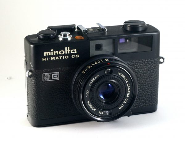 Minolta Hi-Matic CS - Minolta Rokkor 38mm f/2,7