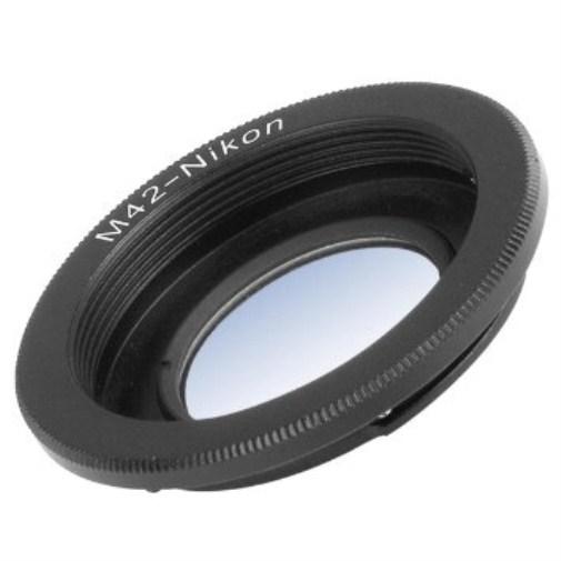 Adapter M42 - Nikon AI sa korekcionim sočivom