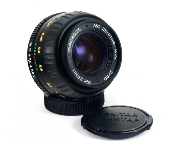 Zenitar-M2s MC 50mm f/2.0 M42 Russian lens Zenit KMZ