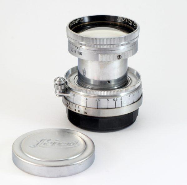 Leitz Summitar 5cm f/2.0 Collapsible Lens Leica Screw Mount M39