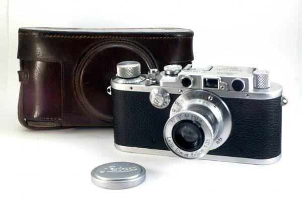 Leica IIIa + Leitz Elmar 5cm f/3,5 M39