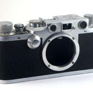 Leitz Leica IIIC rangefinder 35mm film camera Body (1950)