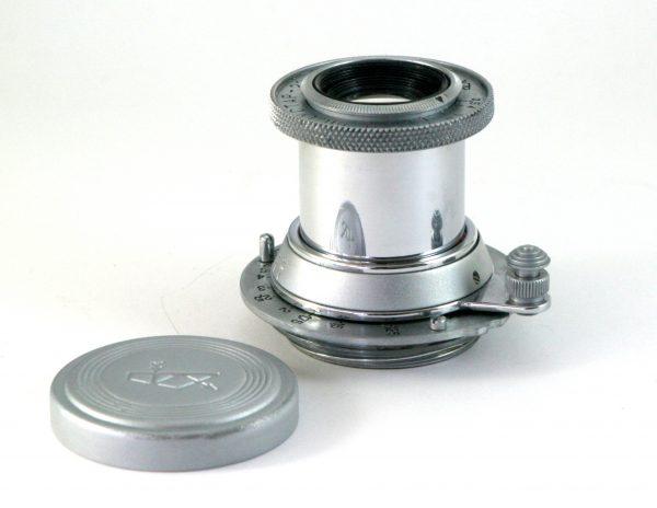 "Industar - 22 50mm f/3,5 Red ""P"" M39 Mount RF Zorki / Leica (Leitz Elmar copy)"