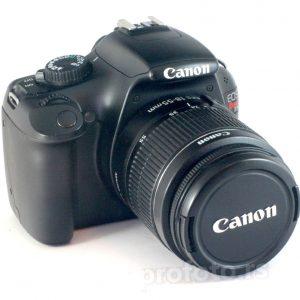 Canon EOS 1100D + 18-55mm f/3.5-5.6 II / Rebel T3