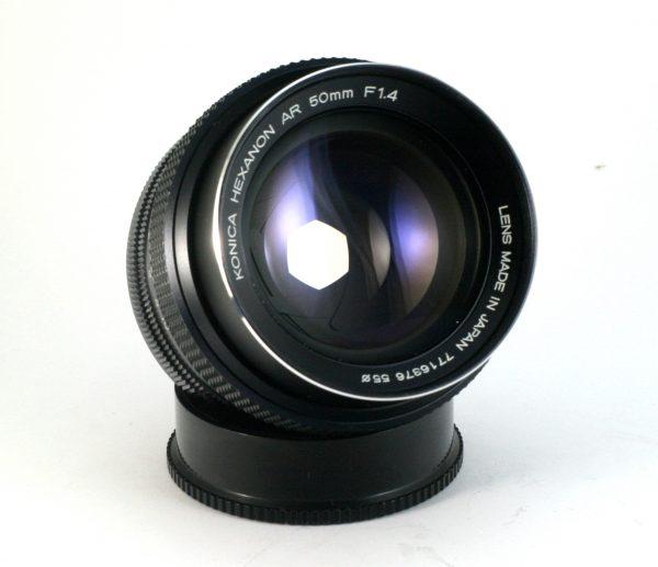 Konica Hexanon AR 50mm f/1,4