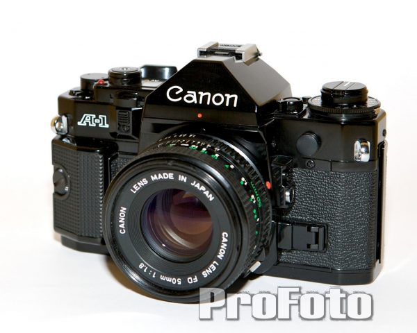 Canon A-1 + Canon FD 50mm f/1,8