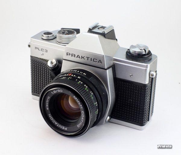Praktica PLC-3 + Pentacon 50mm f/1,8 M42