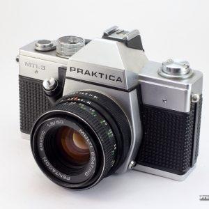 Praktica MTL-3 + Pentacon 50mm f/1,8 M42