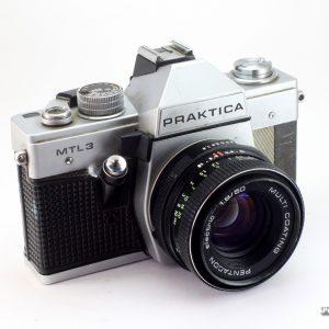 Praktica MTL-50 + Pentacon 50mm f/1,8 M42