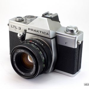 Praktica LTL-3 + Pentacon 50mm f/1,8 M42