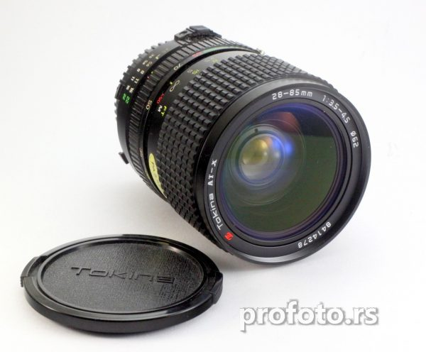 Tokina AT-X 28-85mm f/3.5-4.5 Zoom Lens Minolta MD