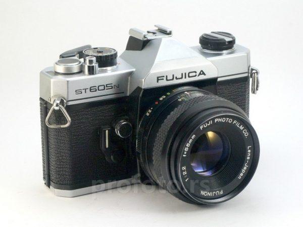 Fujica ST 605N + Fujinon 55mm f/2,2 M42
