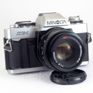 Minolta XG-1 + 50mm f/1.8 MD