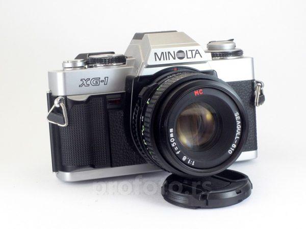 Minolta XG-1 + 50mm f/1.8 MD