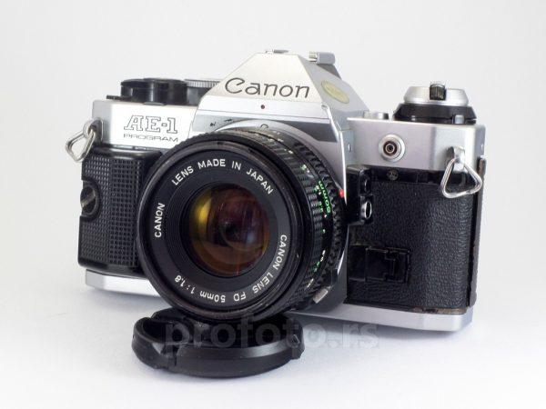 Canon AE-1 Program + 50mm f/1.8 FD