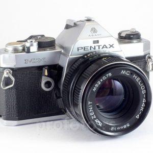Pentax MX + Helios 58mm f/2.0 PK