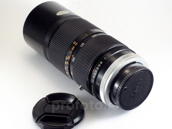 Canon S.S.C. 80-200mm f/4.0 FD
