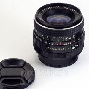 Stratonar Automatic 28mm f/2.8 Canon FD Mount