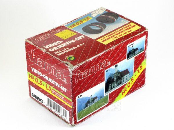Hama Set Tele + Wide konverter 43mm / 46mm