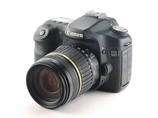 Canon EOS 50D + Tamron 18-200 F/3.5-6.3 XR DiII LD