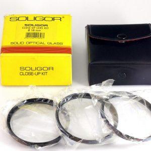Soligor Close Up kit 58mm +1, +2, +3