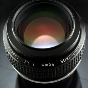 Nikon NOCT NIKKOR AIS 58mm f/1.2 lens I MINT I TESTED