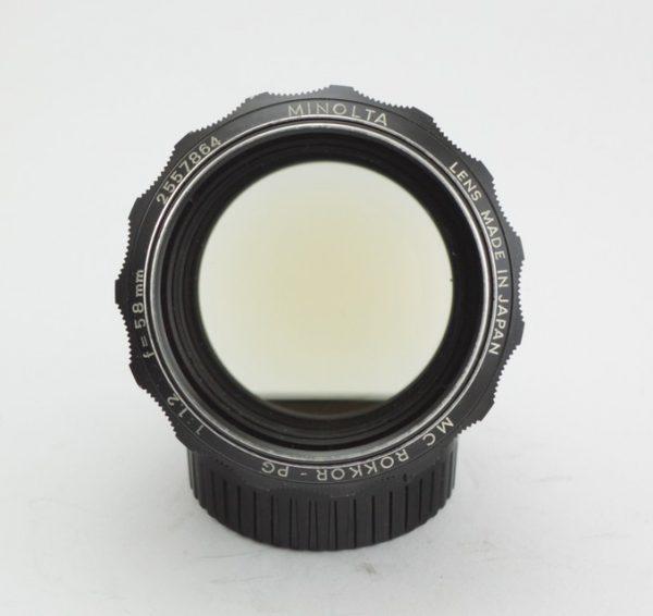 Minolta MC Rokkor-PG 58mm f/1.2