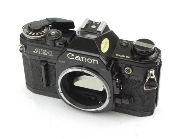 Canon AE-1 Black