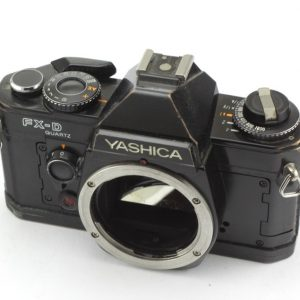 Yashica FX-D Quartz Black
