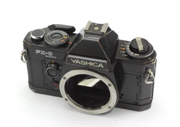 Yashica FX-D Quartz Black