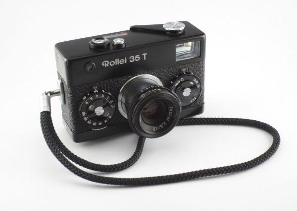 Rollei 35T + Tessar 40mm f/3.5 BLACK
