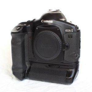 Canon EOS 1V + Canon Power Drive Booster PB-E2