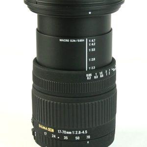 Sigma 17-70mm f/2.8-4.5 DC Macro Nikon