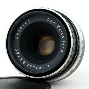 Carl Zeiss Jena Tessar 50mm f/2.8 M42 ZEBRA