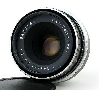 Carl Zeiss Jena Tessar 50mm f/2.8 M42 ZEBRA