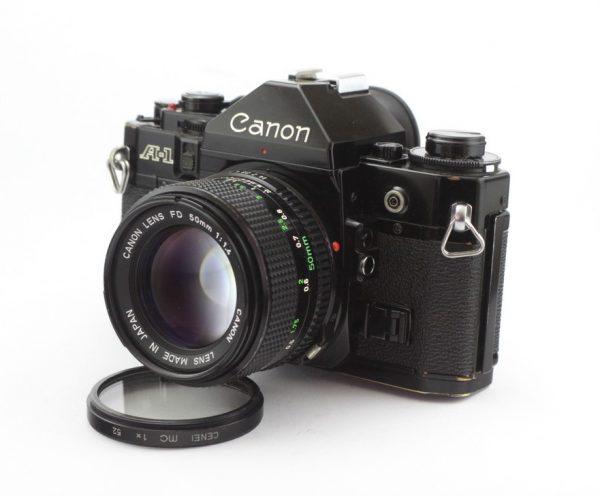 CANON A-1 + CANON FD 50MM F/1,4