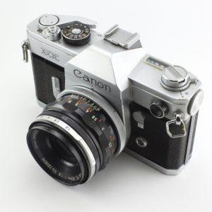 Canon FX Pellix + 50mm f/1,8 FL
