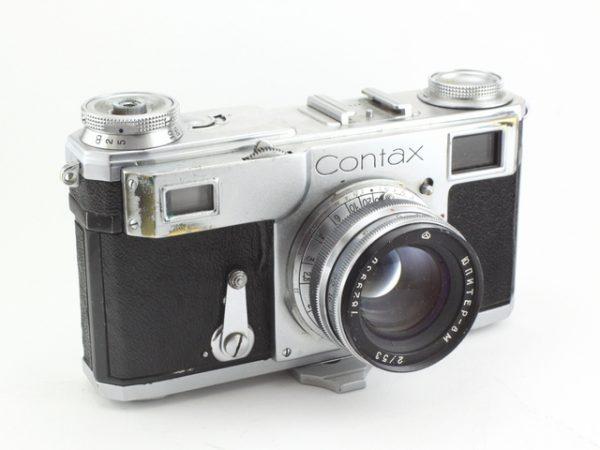 Contax II - 50mm f/2.0 Jupiter 8