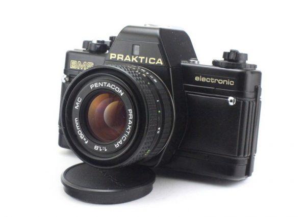 Praktica BMS + Prakticar 50mm f/1.8