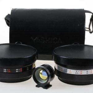 Yashica GSN Yashikor AUX Wide Angle + Tele photo + Zuher